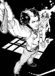 $25 Sketch- Demon Barber by TV-TonyVargas