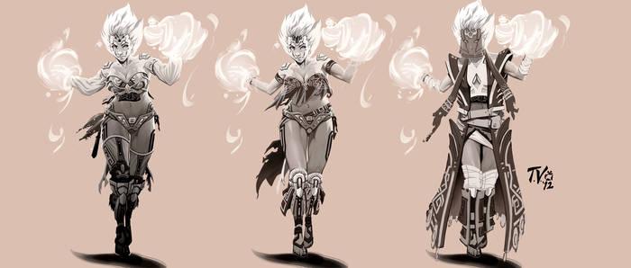 Female Mage Concept