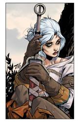 Ciri of The Witcher 3