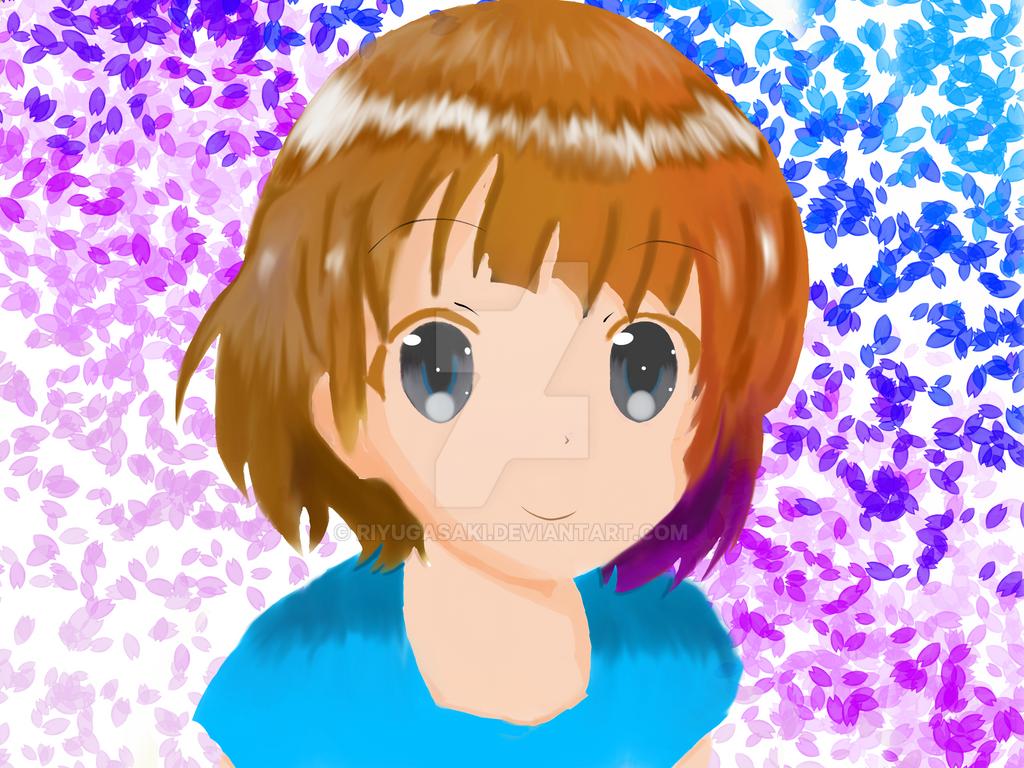Miuna from Nagi no Asukara (Hair color change) by Riyugasaki
