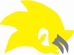 Thunder silhouette logo by HedgehogThunder