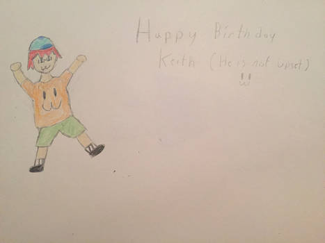 Happy Birthday Not Upset :3 by Twitchthehacker