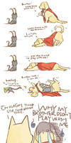 dog THOR cat LOKI
