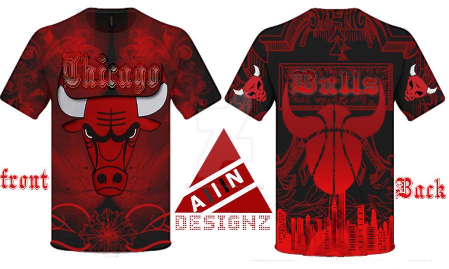 chicago bulls t shirt design by allinshirts on deviantart. Black Bedroom Furniture Sets. Home Design Ideas