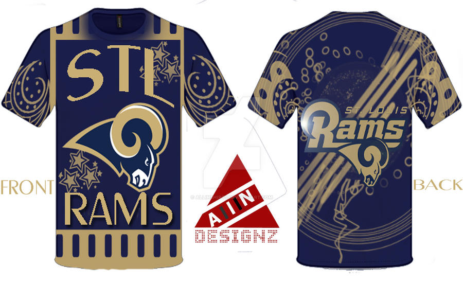 St louis rams t shirt design by allinshirts on deviantart for T shirt printing mobile al