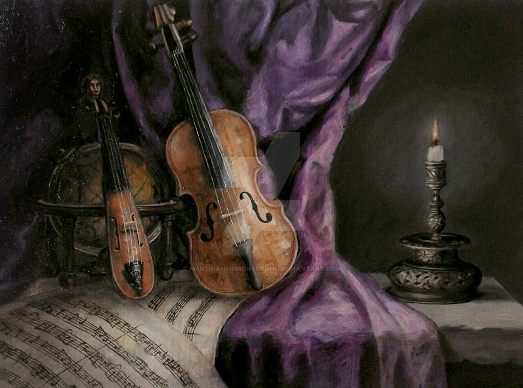 Allegory of Music by MartinaHermioneGrang