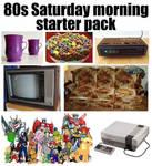 80s saturday morning starter pack