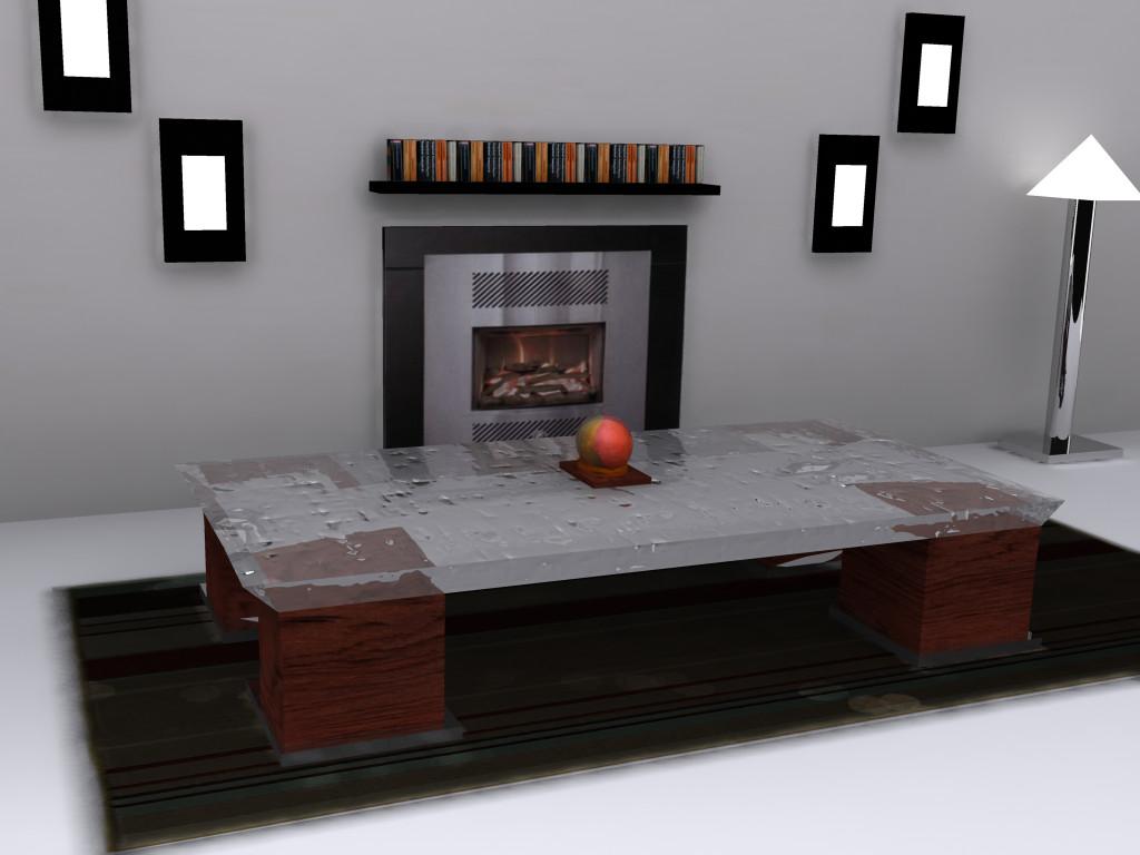 3d living room by serjig007 on deviantart for Joop living room 007