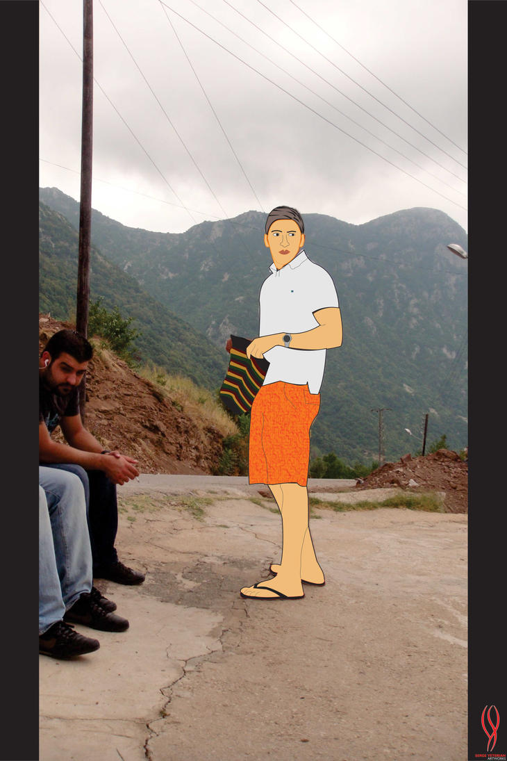 Illustrazione di me stesso by serjig007