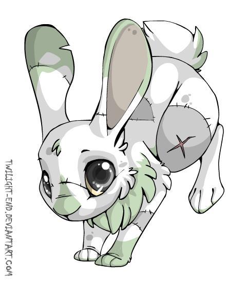 Zombie Rabbit Drawing ...