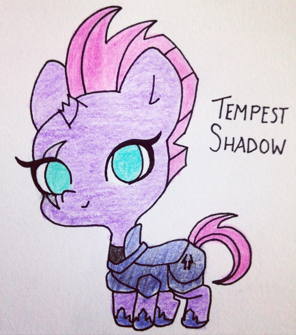 Tempest Shadow by xpyxisx