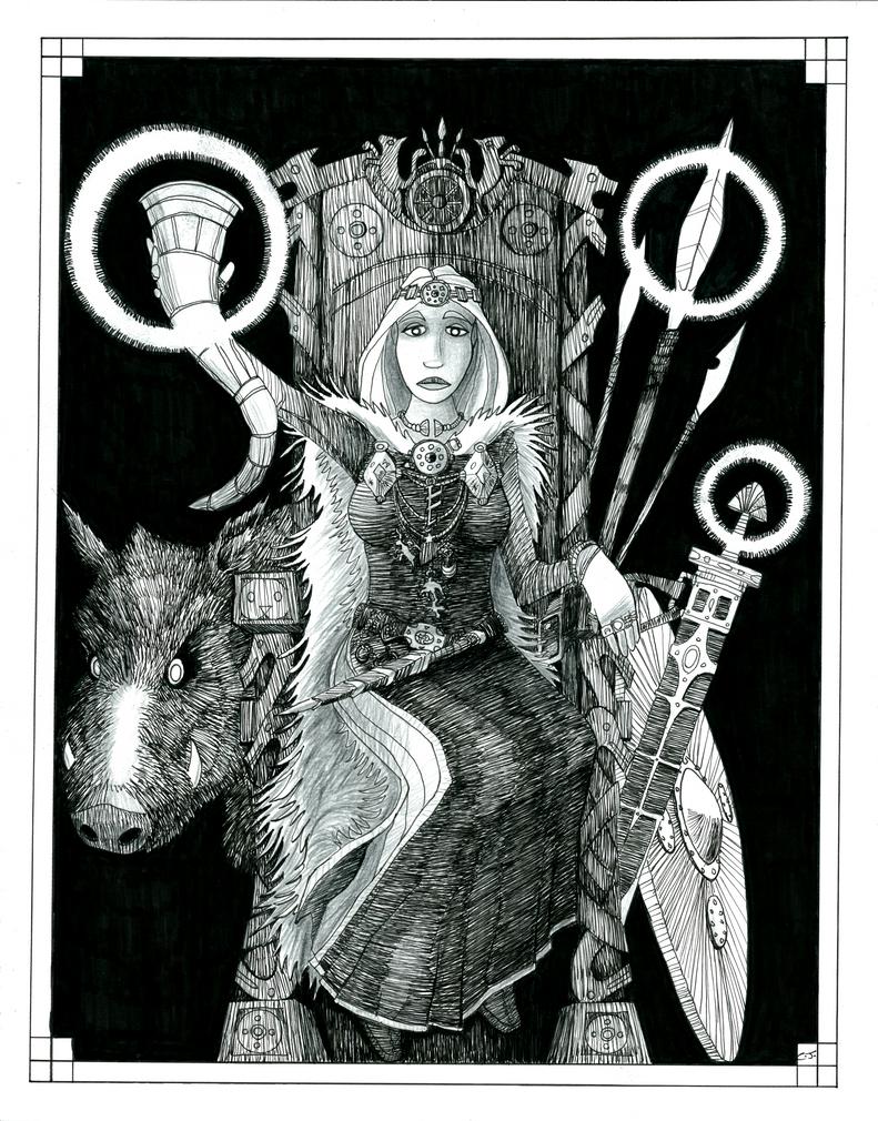 Freyja by corvidcorax