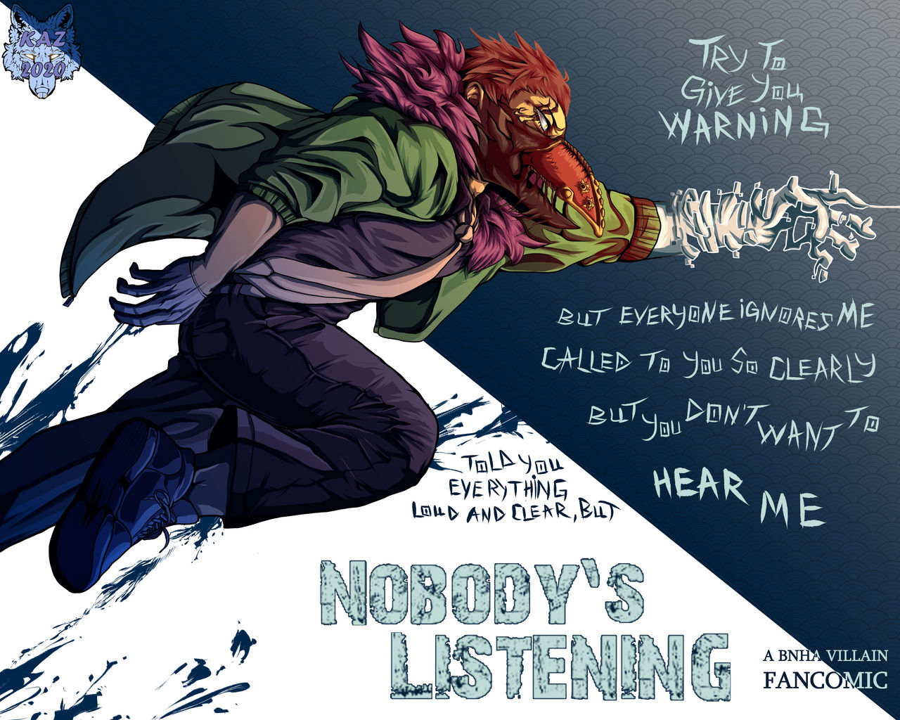 Nobody S Listening Overhaul Promo By Manlykaz On Deviantart Listening lyrics verse1pull the car oversay we need to talki can see. nobody s listening overhaul promo by