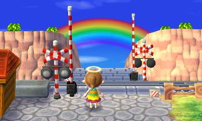 Animal Crossing NL Day 64: RAINBOW! by SPNLvr17