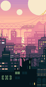 Yela's Skyline by MahAmmar