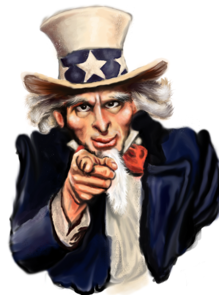 Uncle Sam Drawing Crazy uncle sam by et-fosterUncle Sam Drawing Tutorial
