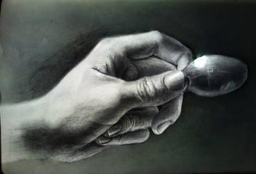 Piece of spoon by Santiago-Perez