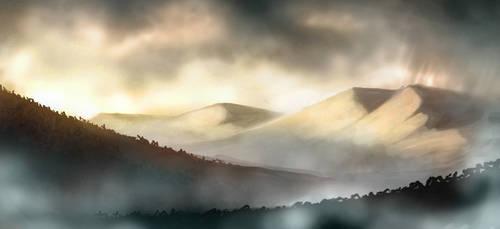 Foggy by Santiago-Perez