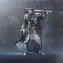 Knight by Santiago-Perez