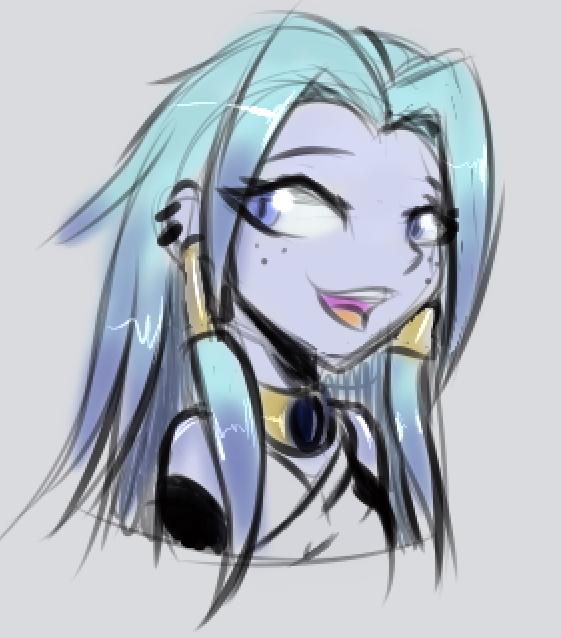 crystal_sketch_by_justingreeneart-dbu5oe