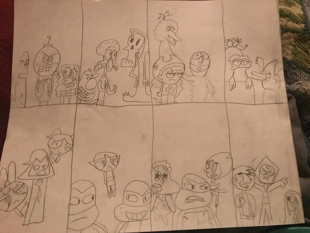 Grouches Swap by spongeboom18