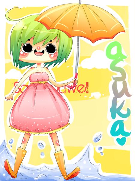Asukaaaa by milqo