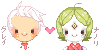 Pixel Icons Grey and Nanori by milqo