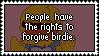dear rabid birdie haters by mixjestiic