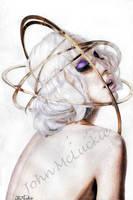 Lady Gaga - Rings of Saturn by Bagel-Bonanza