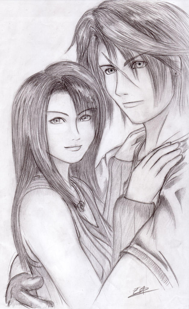 Squall And Rinoa Pictures Rinoa Squall by Sevrd ed