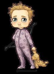Little Hawkeye by Galadnilien
