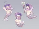 Tiny Hipster Mermen