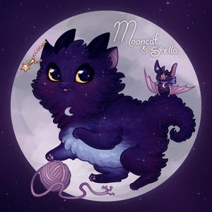 Mooncat and Stella
