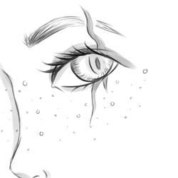 Random Close-up Face Sketch