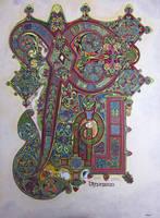 Book Of Kells , folio 34r by nikeyvv