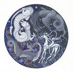 Dragon Mandala by nikeyvv