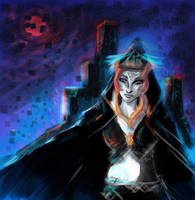 The Legend of Zelda : Kingdom of shadows by milesiA-n-Brun