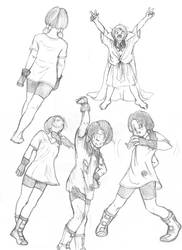 Various Videl Sketches - Other
