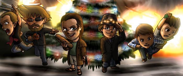 De Leuter 2 Christmas Card