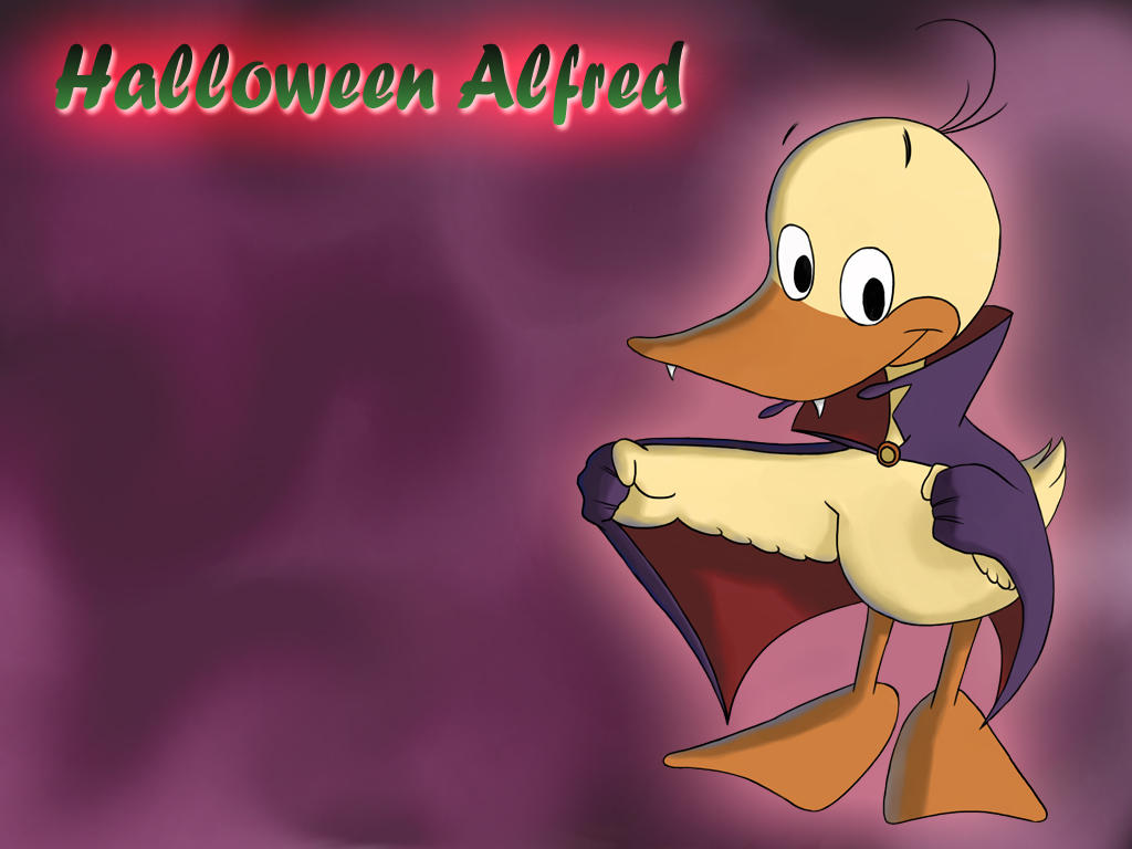 Halloween Alfred by dougurasu