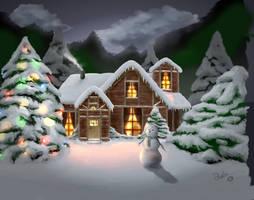 Christmas Night by dougurasu
