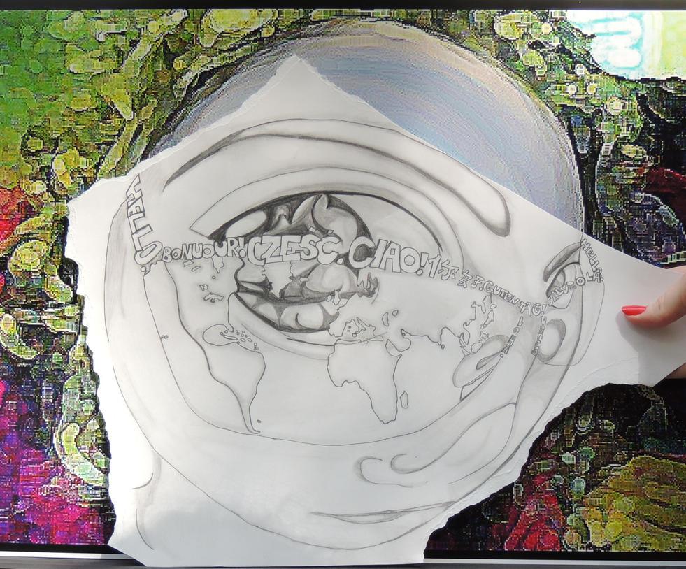 Art Project Final - Inspired by Pencil vs. Camera by JerisheCyane