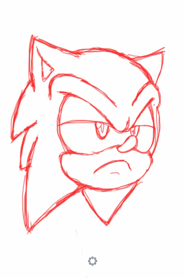 Annoyed Sonic Head By Dillon The Hedgehog On Deviantart