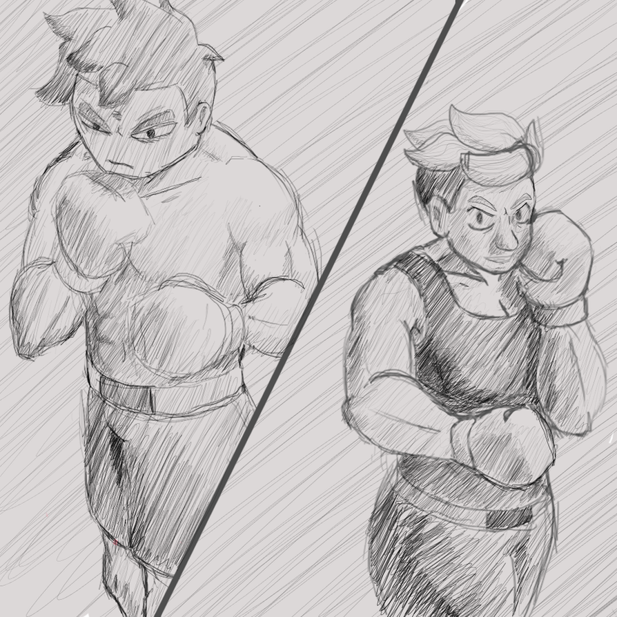 Boxing by Dillon-the-hedgehog