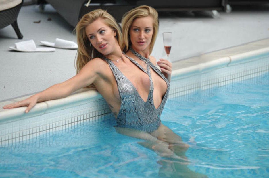 Pool Blondes by TwoHeadsBetter