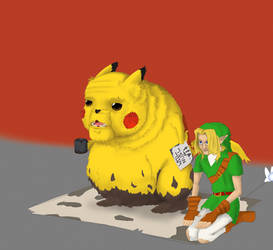 Pika and friends