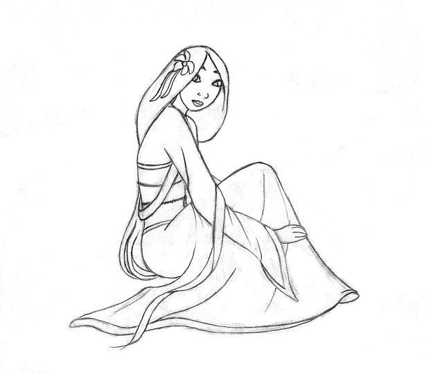 Mulan by etherealgirl