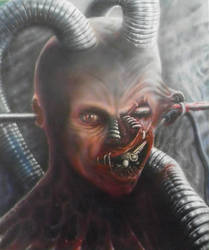 Call Center Operative Number One by Airbrush-Ninja