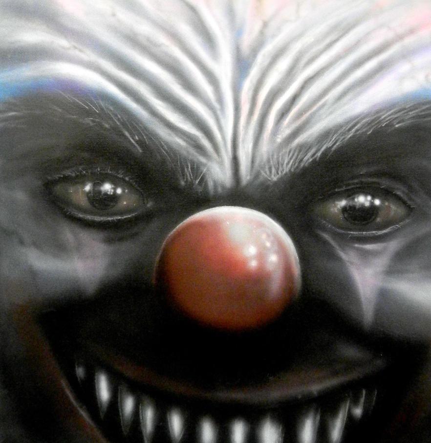 Happy Clown by Airbrush-Ninja