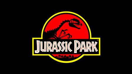 Jurassic Park Logo: Dilophosaurus by PrincepsTenebris